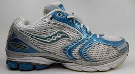 Saucony Hurricane X 10 Size 7 M (B) EU 38 Women's Running Shoes Silver 10000-4
