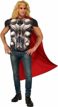 Standard - Men's Avengers 2 Age of Ultron Thor Muscle Chest Costume Top ... - $36.09