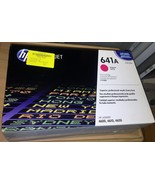 NewSealedGenuine OEM HP 641A C9723A  Magenta TonerCartridge; Exp:10-1-13... - $65.44