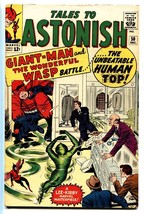 Tales To Astonish #50 Comic Book 1963-MARVEL-WASP-GIANT-MAN-HUMAN Top ORIGIN-FN+ - $100.88