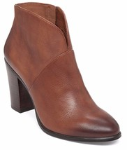 Women Vince Camuto Franell Leather Booties, Size 10 Rich Cognac VC-FRANELL - $119.95