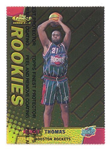 1999-00 Finest Gold Refractor /100 Kenny Thomas Rare Die-Cut Insert #122 Basketb