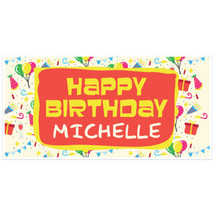 Fun Happy Birthday Banner Personalized Party Ba... - $22.50