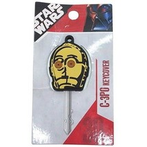 Disney Star Wars C - 3 PO key cover case with chain FS - $24.75