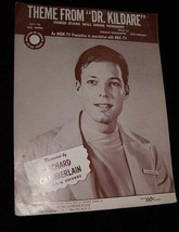 Theme From Dr Kildare Sheet Music Richard Chamberlain - $14.99