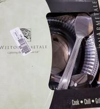 Wilton Armetale Flutes and Pearls Large 3-Piece Aluminum Serving Bowl Set - ₹5,558.06 INR