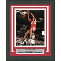 FRAMED Autographed/Signed DWIGHT HOWARD Houston Rockets 16x20 Photo Tris... - £114.59 GBP
