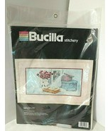 Still Life ONCE UPON A TIME Embroidery Kit NEW Sealed Bucilla Stitchery ... - $25.20