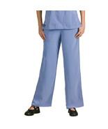 Dickies Women's Elastic Drawstring Waist Scrub Pant, Ceil Blue, X-Large P - $14.91