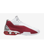 Nike Shox BB4 White Varsity Red Silver Vince Carter AT7843-101 Men's Sz ... - $54.59