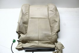 2005-2007 Infiniti G35 Coupe Front Right Passenger Upper Seat Cover Beige P3934 - $117.60