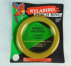 """Nylabone Nylabird Perch Ring Toy Parrot Pacifier Gaint Size 6"""" N-207 Dog... - £5.31 GBP"""