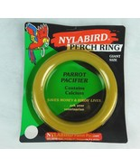"""Nylabone Nylabird Perch Ring Toy Parrot Pacifier Gaint Size 6"""" N-207 Dog... - $6.99"""