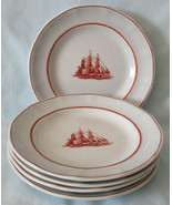 Wedgwood Georgetown Collection Flying Cloud Bread Plate, Set of 5, Bluish - $35.53