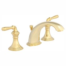 KOHLER Bathroom Faucet 8 in. Widespread 2-Handle Low-Arc Vibrant Polished Brass - $359.85
