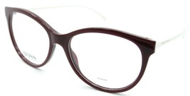 Hugo Boss Eyeglasses Frames BOSS 0851 C19 54-15-140 Burgundy//Nude Italy