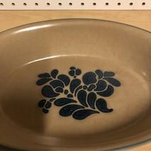 Pfaltzgraff America Americana Oval Baker 9 1/2 Folk Art Server Bowl #241 - $18.69