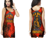Fire fighter quote bodycon dress for women thumb155 crop