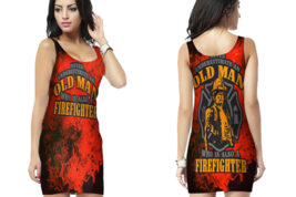 Fire Fighter Quote Bodycon Dress For Women - $22.99+