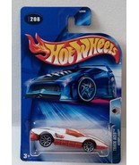 Hot Wheels 2004 Track Aces 208 Aeroflash White 10sp - $3.36