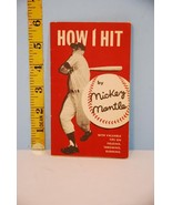 1956 Mickey Mantle: How I Hit Booklet from Lifebouy Soap New York Yankee... - $163.49
