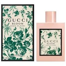 Gucci Bloom Acqua Di Fiori 100ML 3.3 Oz Edt Women New Sealed Box. - $69.99