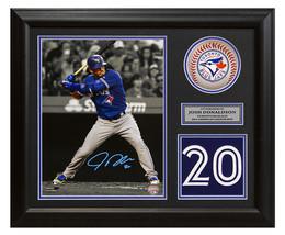 Josh Donaldson Toronto Blue Jays Signed Franchise Jersey Number 23x19 Frame - $210.00