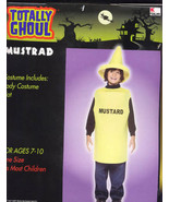 MUSTARD BOTTLE  Halloween Costume Size 7-10  Brand New! - $14.95