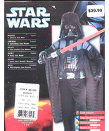 Star Wars DARTH VADER Halloween Costume Size Med 8-10 - $14.95