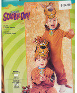 SCOOBY DOO Halloween Costume Toddler Size 2-4 NEW! - $14.99