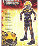 TRANSFORMERS Bumblebee  Halloween Costume Size 4-6 NEW! - $19.99