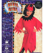 DEVIL GIRL Halloween Costume Med 8-10 Brand New! - $9.99
