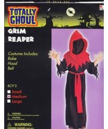 RED  GRIM REAPER  Halloween Costume  Size Medium  New! - $12.00