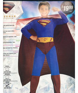 SUPERMAN  Halloween Costume  LARGE 12-14  BRAND NEW! - $12.99