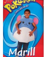 MARILL  Pokemon  Halloween Costume Size 7-10  LAST ONE! - $24.00