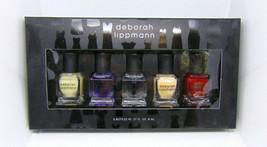 Deborah Lippmann Little Black Dres 5 Piece Manicure Collection 5x0.27oz./8ml Nib - $29.65