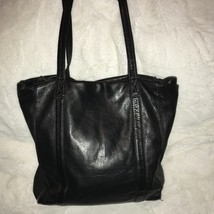 Cole Hann Black Leather Tote - $90.00