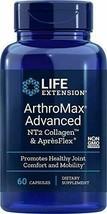 Life Extension Arthromax Advanced with NT2 Collagen & ApresFlex, 60 Caps... - $25.89