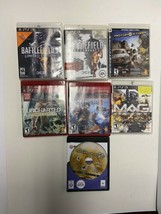 PS3 Game Lot Of 7 - Uncharted, Battlefield, Modern Warfare, Motor Storm,... - $24.75