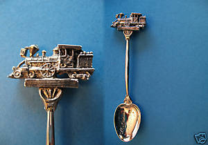 Primary image for CPR LAST SPIKE Souvenir Collector Spoon CANADIAN PACIFIC RAILWAY Craigellachie