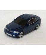 BMW 1 series coupe blue dealer special 7.5cm die cast model car - $47.99