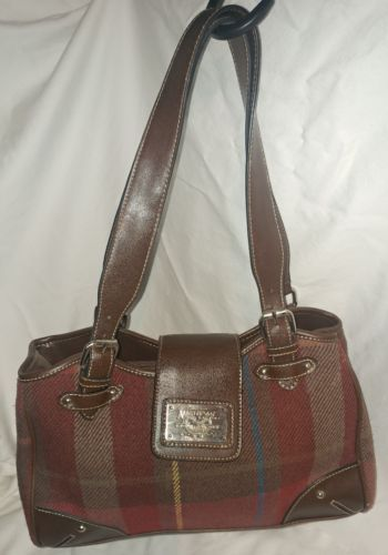 American Living Purse Plaid Wool Winter And 50 Similar Items