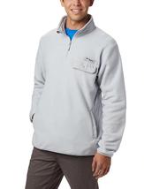 Columbia Sportswear Men's Harborside™ II Fleece Pullover, Cool Grey, XL - $49.49