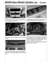 1999-2004 Subaru Forester Factory Repair Service Manual - $15.00