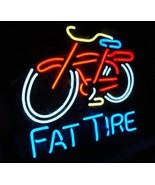 """Fat Tire Bicycle Beer Bar Neon Light Sign 16"""" X 14"""" - $499.00"""
