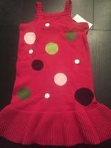 New Holiday Christmas Sweater Dress Size 7 Gymboree - $15.00
