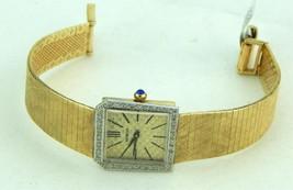 Ladies Geneva 14k Yellow Gold Wristwatch 1.00 TDW - $2,495.00
