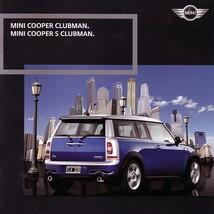 2008 Mini COOPER CLUBMAN sales brochure catalog US 08 S - $10.00