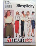 Women's Dress Skirt EASY 1 Hour Size 18-24  L-XL  8747  - $6.99