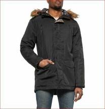 new INDUSTRY men coat parka jacket hooded insulated IF19J167 black sz M - $95.12